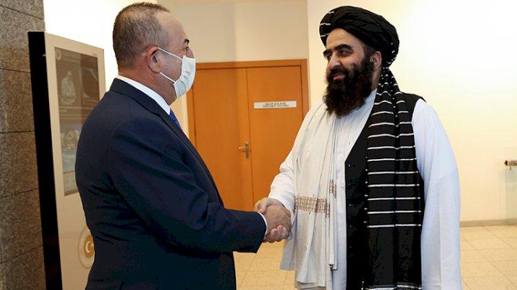 Taliban'la neler konuşuldu?  Çavuşoğlu'ndan ziyaret açıklaması